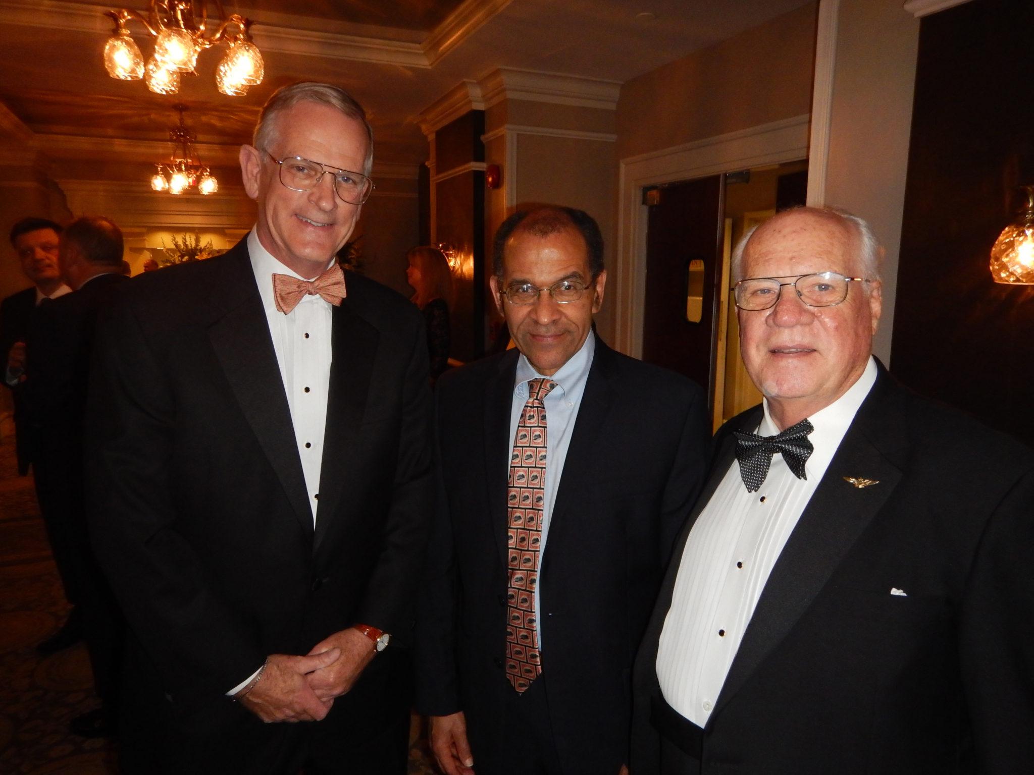Ted Ellet, Christopher Hart, and Tony Jobe; Photo by Robert L. Feldman