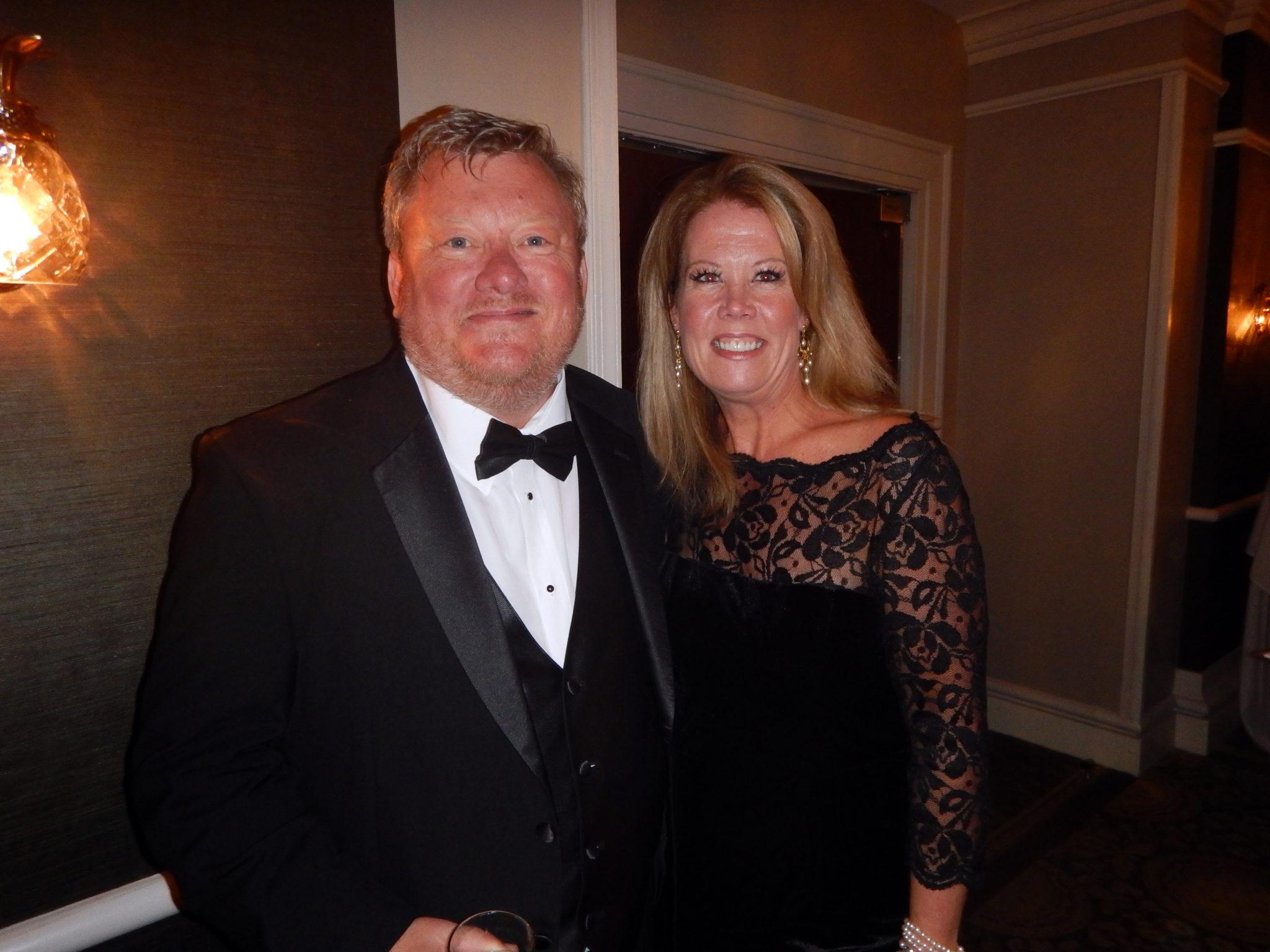 IATSBA President Jim Waldon and Ralene Wilhelm